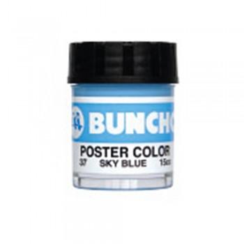 Buncho PC15CC Poster Color 37 Sky Blue - 6/box