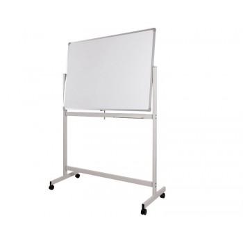 Whiteboard Aluminium Frame Melamine Magnetic Double Sided DMS46 - 120cm x 180cm (4' x 6')