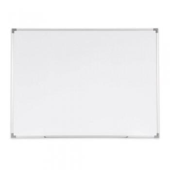 Melamine Magnetic - Whiteboard Aluminium Frame - SM34 - 90 x 120 cm (3' x 4') with HOOK