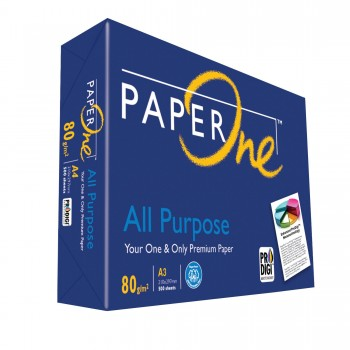 PAPERONE All Purpose White A3 Paper 80G - Ream of 500 Sheets